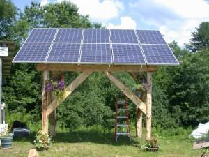 solar gazebo